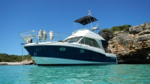 Charter motorboat in Porto Cristo peer-to-peer
