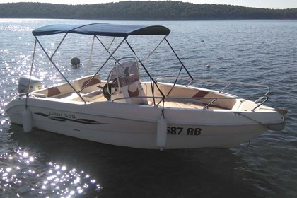 Hire Motorboat GS NAUTICA 550 OPEN Rab