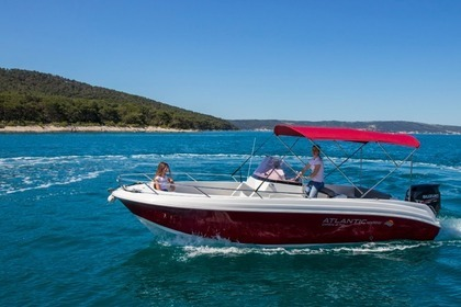 Hire Motorboat Atlantic 670 Open Split