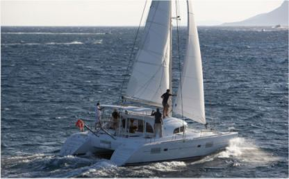 Location Catamaran Lagoon 380 Ajaccio