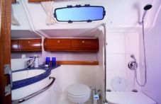 Bavaria 46 Silvanac in Trogir for hire