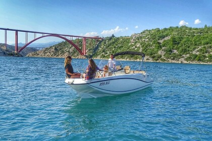 Rental Motorboat Quicksilver Activ 675 Open Jasenice, Zadar County