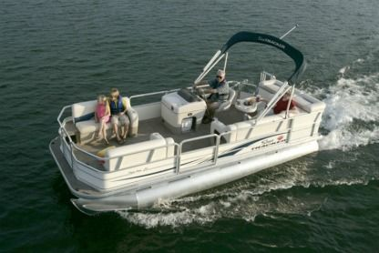 Rental Motorboat Suntracker Pontoon New Orleans