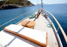 Rental Sailboat Traditional Gulet Tifil Bodrum