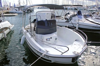 "Rental Motorboat Beneteau Flyer 5.5 Spacedeck ""wanda Iii"" Cambrils"
