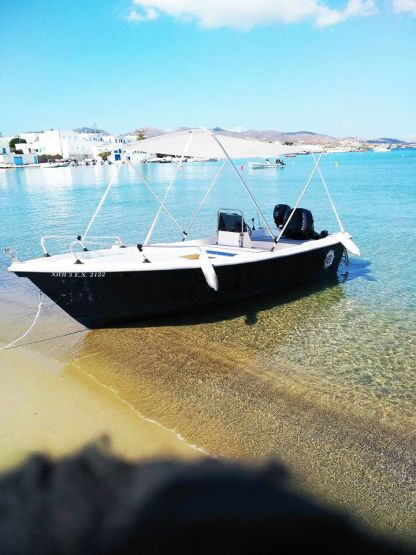 Rental Motorboat Man 4.85 Milos
