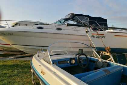Rental Motorboat Hellwig Boot Medulin