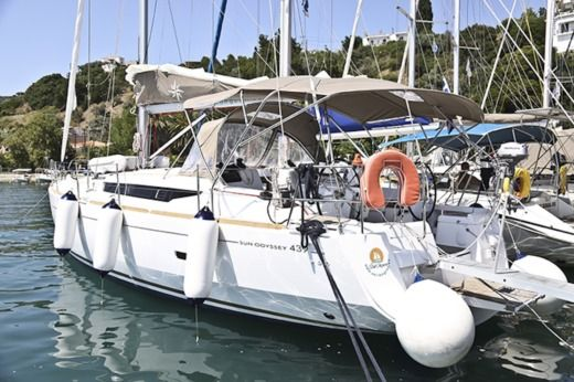 Jeanneau Sun Odyssey 439 in Skiathos for hire