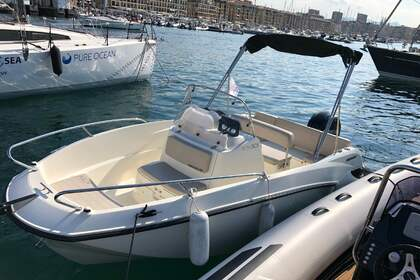 Rental Motorboat Quicksilver Activ 505 Open Marseille