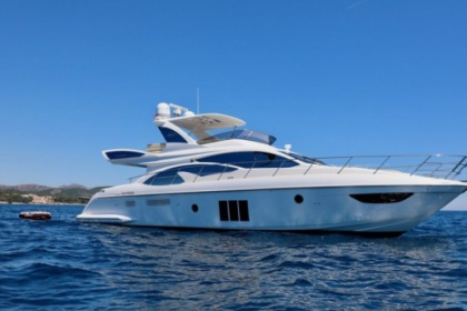 Miete Motorboot Azimut Fly 60 Cannes