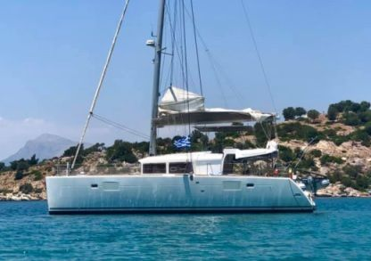Rental Catamaran Lagoon 450 Fly Marigot