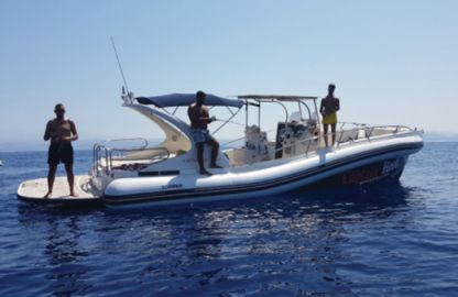 Charter Motorboat Scanner One 999 Heraklion