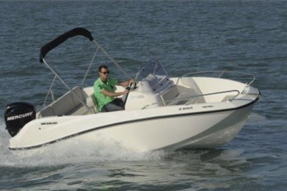 Hire Motorboat QUICKSILVER 555 Toulon