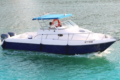 Hire Motorboat Gulf Craft ambassador 32 Dubai