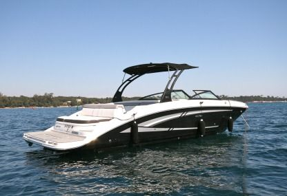 Verhuur Motorboot Searay 270 Sundeck Cannes