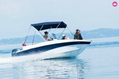 Rental Motorboat Compass 150 Cc Chalkidiki