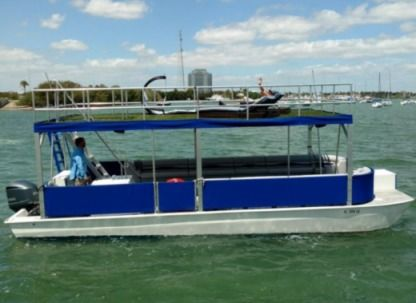 Charter Motorboat Sand Bar 32 Miami