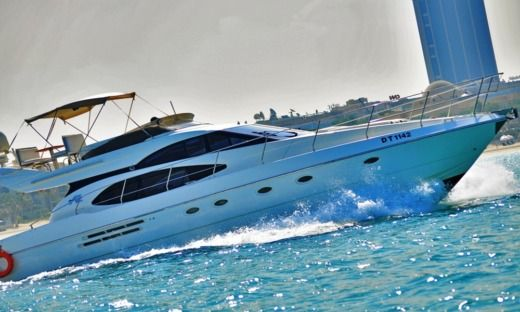 Motorboat 2002 Azimut for rental