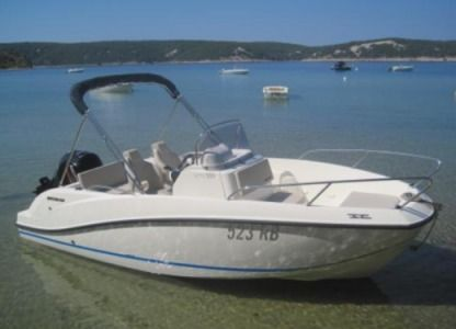 Charter Motorboat Quicksilver Activ 555 Open Rab
