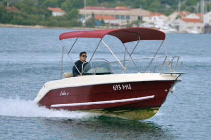 Rental Motorboat Luka Open Murter