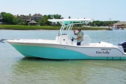 Hire Motorboat Sea fox 24' Mount Pleasant
