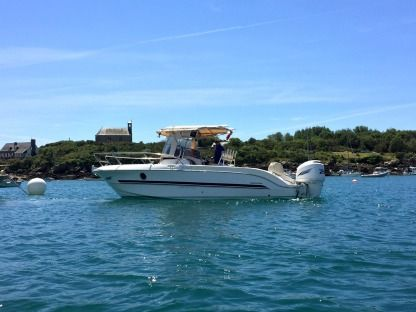 Charter Motorboat Sessa Marine Key Largo 26 Agon-Coutainville