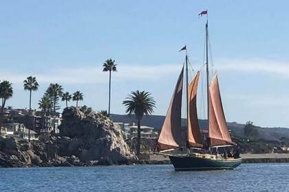 Hire Sailboat Willard Pilot Schooner Newport Beach