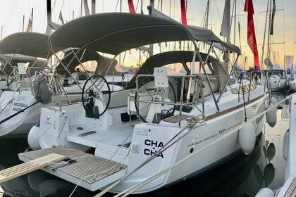 Rental Sailboat JEANNEAU SUN ODYSSEY 349 Split
