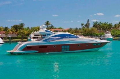 Rental Motorboat Azimut Custom Miami