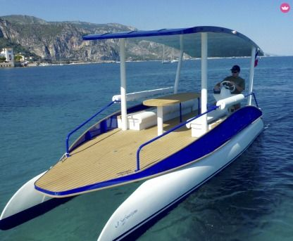 Rental Motorboat Suncy Solar Boat 19 Beaulieu-sur-Mer