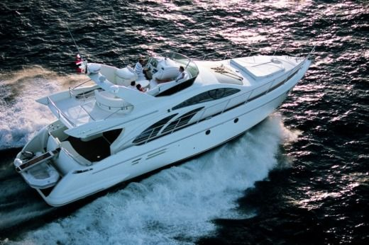 Motorboat AZIMUT 50 FLY for hire