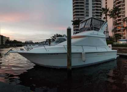 Location Bateau à moteur Sea Ray 340 Sedan Bridge Miami Beach