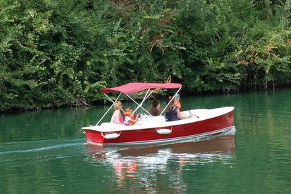 Rental Motorboat Ruban Bleu SCOOP 475 Strasbourg