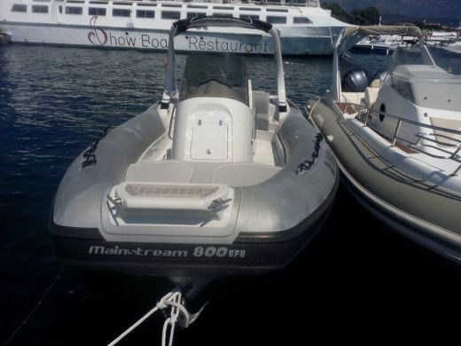 RIB Jocker Boat Mainstream 800 for hire