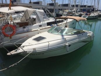 Charter Motorboat Chaparral 235 Ssi 235 Ssi Castelldefels