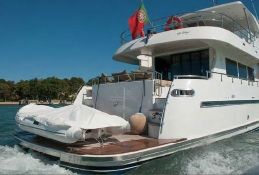 Cantieri Vizianello Navetta 23Mt in Porto Cervo for hire