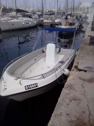 Buccaneer Sea Rover 205 in Malta for hire