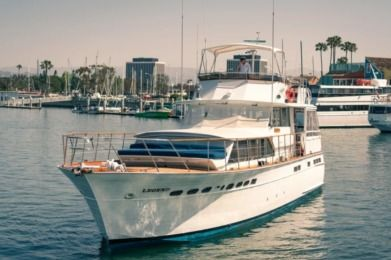 Charter Motorboat Chris Craft Custom Marina del Rey