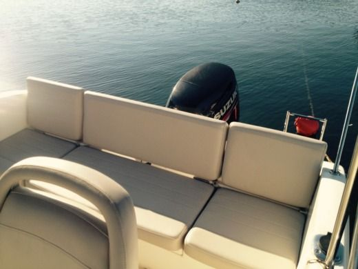 Motorboat Quicksilver 505 for hire