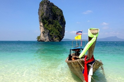 Hire Motorboat custom Long tail Boat Krabi Noi