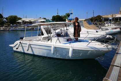 Rental Motorboat SAVER 7,50 Bacoli