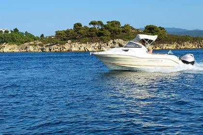 Rental Motorboat Quicksilver 620 Cruiser Chalkidiki