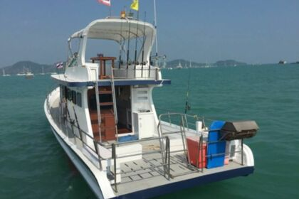 Charter Motorboat Custom Local sport fisher G Phuket