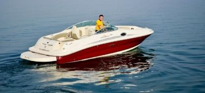 Rental Motorboat Sea Ray 240 Sun Deck Moniga del Garda
