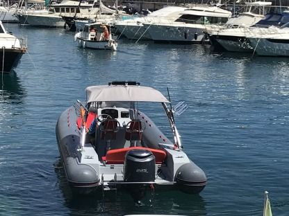 Location Semi-rigide Capelli Tempest Sun S 700 Monaco