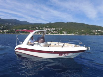 Rental Motorboat Powercraft Glidepath 22 Opatija