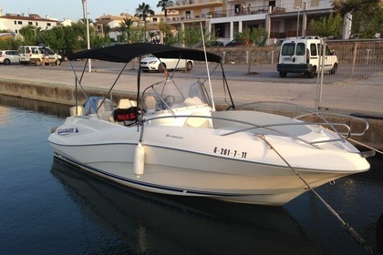 Charter Motorboat QUICKSILVER Commander 635 Can Picafort