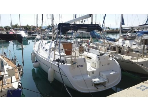 Sailboat Hunter 356