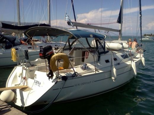 Jeanneau Sun Odyssey 37 in Corfu for hire