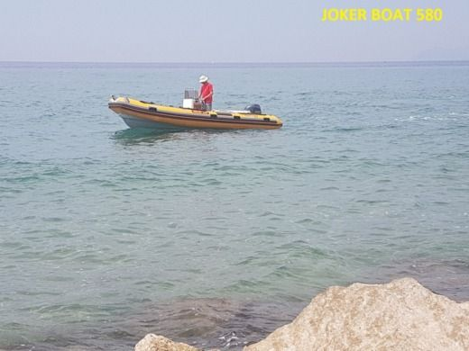 RIB Joker Boat Coaster 580 for hire